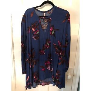 free people | floral tunic